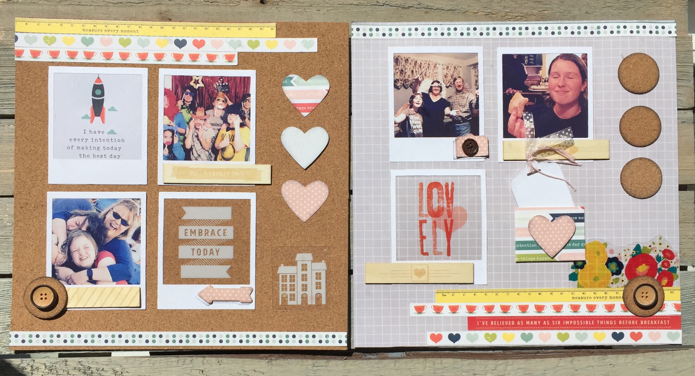 True Story 12x12 Memory Layout