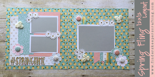 Spring Fling 12x12 Featured