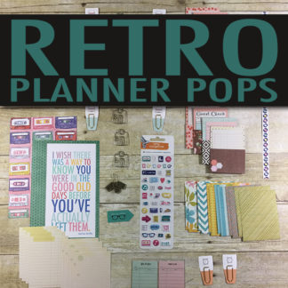 Retro Planner Pop Product