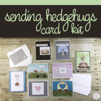 sending hedgehugs card product