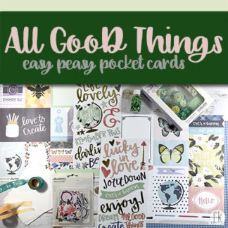 All Good Things Easy Peasy Pocket Cards - Featured