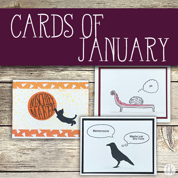 Cards of January - Featured